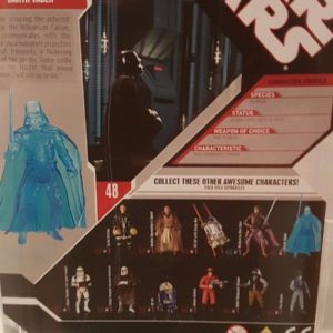 Figura Darth Vader Holograma Star Wars Hasbro 2007 30th Anniversary AFA U85