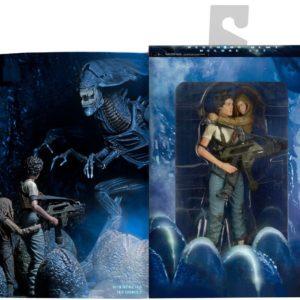 Figuras Ripley y Newt Aliens Neca Deluxe Pack figuras 30 Aniversario