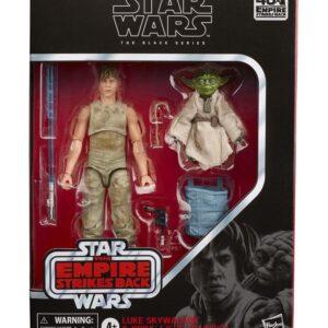Star Wars Episode V Black Series Pack de 2 Figuras 2020 Luke Skywalker and Yoda (Jedi Training)