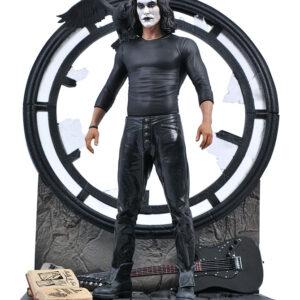 The Crow movie gallery pvc statue