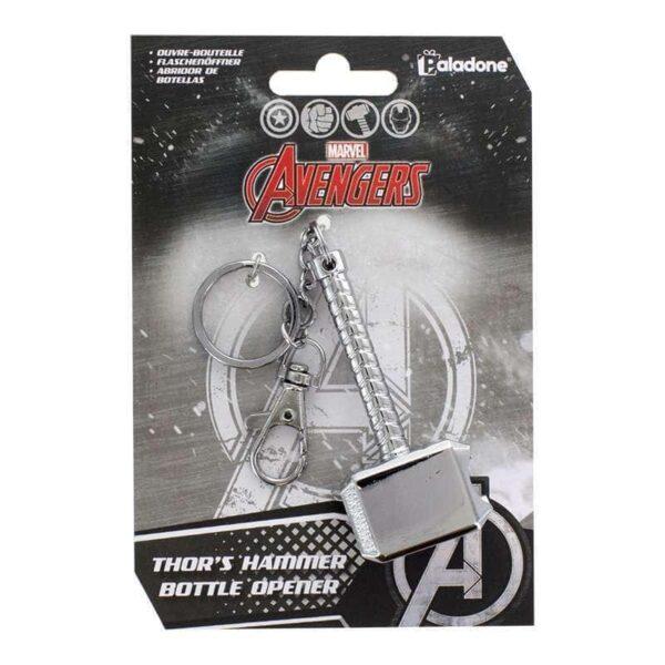 Abrebotellas Marvel Thor Martillo metal Mjolnir