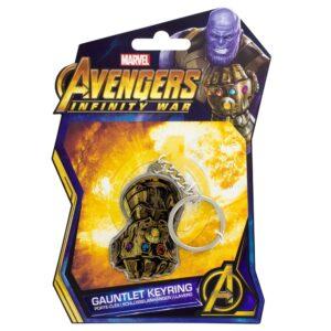 Llavero Marvel Avengers Infinity War Gauntlet metal