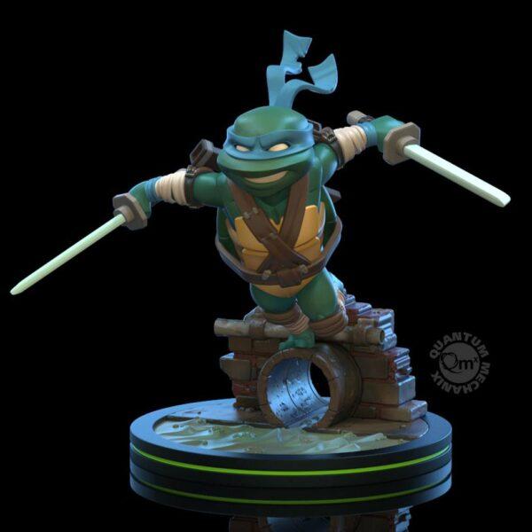 Tortugas Ninja Figura Q-Fig Leonardo 13 cm