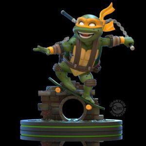 Tortugas Ninja Figura Q-Fig Michelangelo 13 cm