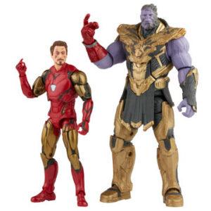 The Infinity Saga Marvel Legends Series Pack de 2 Figuras 2021 Iron Man & Thanos (Endgame) 15 cm