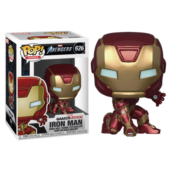 Figura POP 626 Marvel Avengers Game Iron Man Stark Tech Suit