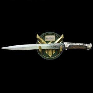Dune Réplica 1/1 Cuchillo Crysknife de Paul Atreides 48 cm